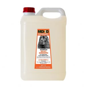 MD10 Silky Smooth Shampoo 5 Litre (20 Litre Diluted) Shih Tzu, Irish Setter, Cavalier, King Charles, Chihuahua, Boxer